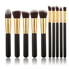 10 Pcs Professional Cosmetic Make Up Makeup Brushes Set Eyeshadow Blush Kit kl