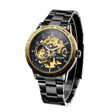 WINNER Mens Luxury Stainless Skeleton Self-winding Auto Mechanical Watch L3I0