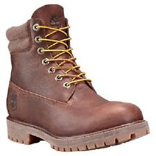 "TIMBERLAND A158S MEN'S 6"" BROWN DOUBLE COLLAR WATERPROOF INSULATED BOOTS $170."