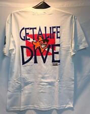 Bob The Fish Get A Life Mens TShirt White Red Black Blue Size Large NEW