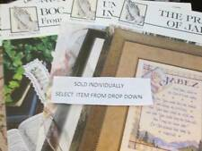 Praying Hands Collection- Religious Samplers OR Bookmarks Cross Stitch Leaflet Y