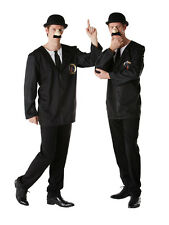 New Adult Licensed Tintin Thompson Twins Fancy Dress Costume Mens Couple Outfit