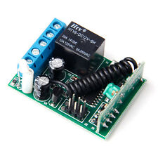 1Key 315/433MHZ Wireless Module Receiver Controller For Relay Remote Switch HM