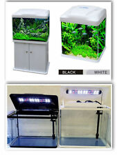 15L/33L/70L/90L Aquarium Nano Fish Tank Tropical or Coldwater with LED Lights