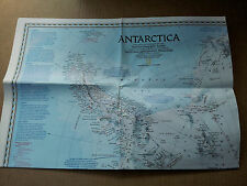 National Geographic supplement, Antarctica, April 1987
