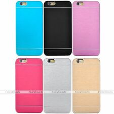 """Luxury Aluminum Metal Brushed Slim Hard Back Case Cover For iPhone 6/6s 4.7"""" New"""