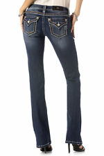 Miss Me Jeans Women's Hitch a Ride Boot Cut Dark Wash JS5014B195 EXTENDED SIZES