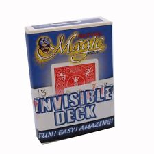 Bicycle Invisible Trick Card Deck - Quality Easy Magic Card Trick - 2 Colours
