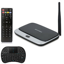 Full HD 1080P CS918 Android 4.4 RK3188T Quad Core Smart XBMC TV Box W/Keyboard