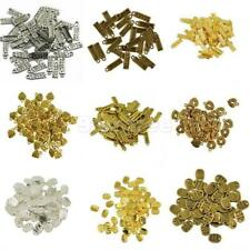 50Pcs Antique Bronze Antique Bronze Made With Love Charms Beads Jewellery Craft