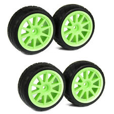4pcs 12mm RC 1/10 Wheels RC Tyres 1 10 RC Wheels Tyres Rubber RC On Road Car