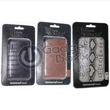 UUNIQUE LEATHER UNIVERSAL POUCH APPLE IPHONE 3GS 4/4S WAS NOW
