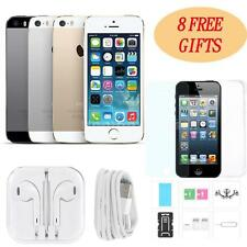 "Apple Smart Phone iPhone 5/5S 4G LTE 3G WCDMA Factory Unlocked 4"" 32GB/16GB Q6F1"