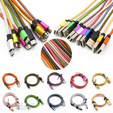 0.2M Short Protable Fast Braided Aluminum Micro USB 2.0 Data&Sync Charger Cable