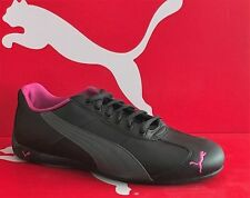 PUMA REPLI CAT III Leather-Womens Casual New Shoes-Black/Gray/Berry-303588 06