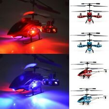 Avatar Z008 4CH Mini Metal RC Remote Control Helicopter RTF LED Light Gyro