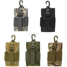 Mobile Phone Belt 4.5 inch Pouch Army Camo Portable Bag Case Cover Universal