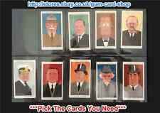 ☆ Player's - Straight Line Caricatures 1926 (G/F) ***Pick The Cards You Need***