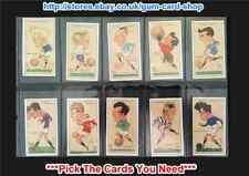 ☆ Player's - Football Caricatures by MAC 1927 (G) *Pick The Cards You Need*