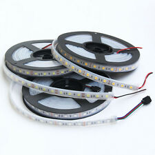 16.4ft 5050 RGB/White/Warm White 300LED SMD Flexible LED Strip Light IP67 DC 12V