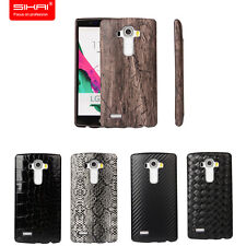 SIKAI New Genuine Leather Bumper Back Case Cover For LG G5 Hard Back Case Cover