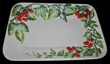 Mottahedeh Design Ancora Italy Majolica, STRAWBERRY Large Rectangular Platter