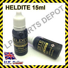 Heldite Liquid Gasket Sealant & Thread Lock 15ml Tin Pipe Sealer Compound