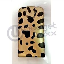LEOPARD STYLE DESIGN PRINT PU LEATHER FLIP CASE FOR SAMSUNG GALAXY S 3 I9300