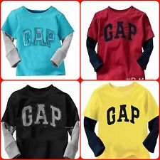 New Baby Toddler Boys Clothes Gap Printed  T-shirt Top Cute Designs size 6M-6yrs