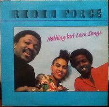 RIDIM FORCE Nothing But Love Songs RARE REGGAE VINYL LP 1ST PRESS TTLP 001
