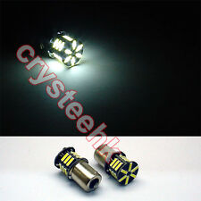 2 - 10 PCS 1156 BA15S 21 SMD 7020 LED Car Auto Tail Brake White Light Bulb Lamp