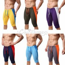 Men's Sexy Casual Tight Short pants Running Gym Fitness Yoga Sports Pants Tights