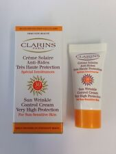 Clarins Paris Sun Wrinkle Control Cream SPF 30 High Protection Sensitive Skin