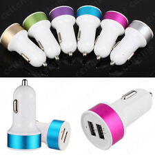 Mini 2 Port Dual USB Car Charger Adapter for Samsung Galaxy S7 iPhone 6 6S Plus