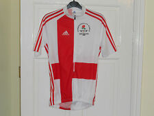 NEW Team England Commonwealth Games 2006 Rider Issue cycling bike shirt Adidas