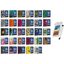 For Nokia Lumia 521 Hard Design Matte Rubberized Skin Case Cover Waterproof Bag