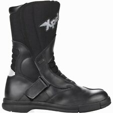 XPD X-Land Waterproof Motorcycle Touring Boots Black eol