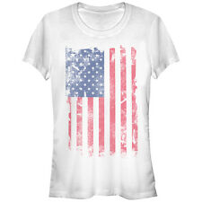 Lost Gods American Flag USA Juniors Graphic T Shirt