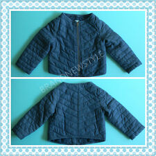 Baby Gap KIDS QUILTED BLUE ZIP COAT Jacket YOU PICK 3 YRS, 4 YRS, 5 YRS $39.99