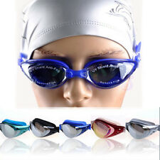 Adjustable Adult Eye Protect Non-Fogging Anti UV Swimming Goggle Glasses New