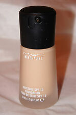 MAC Mineralize Moisture SPF 15 Foundation **You Choose Color