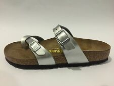 Birkenstock Mayari Classic Sandals - Silver - Made In Germany