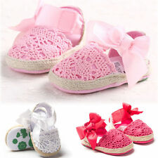 Cute Infant Baby Kids Girl Soft Sole Toddler Newborn Shoes Anti-Slip 0-18 Month