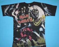 Iron Maiden - 666 The Number of The Beast All Over T-Shirt NEW Full Print