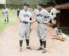 BS694 ROGERS HORNSBY & GEORGE SISLER Braves Baseball 8x10 11x14 Colorized Photo