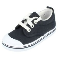 Boys Keds Navy Canvas Shoes Style Scooter