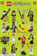 Lego Series 3 Minifigures CHOOSE 1 FACTORY SEALED MiniFigure Fisherman 8803 CMF