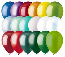 "24 - 12"" Solid Latex Balloons Christmas Inspired Color Palette Wedding Birthday"