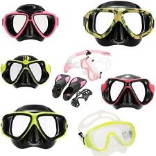 Adult Scuba Snorkeling Swimming Tempered Glass Diving Mask Goggles Useful! R8C1