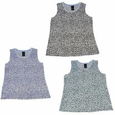Covington Womens Polka Dot Camisole Tank Top Scoop Neck Assorted Colors & Size